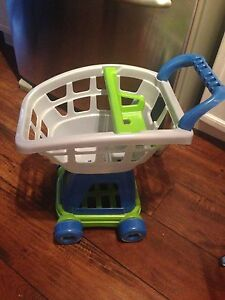 Plastic Shopping Cart, perfect condition, $5