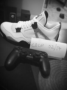 Air Jordan 4 white cement 2016 DS Sz10