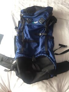MEC backpacking backpack