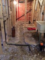 Basement Bathroom Rough In