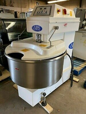 Sinmag Abs Sm-200t Spiral Bakery Floor Dough Mixer 220 Volt 3 Phase Tested