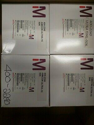 Millipore Amicon Ultra 15 Centrifugal Filters 50k 50kda Ufc905024 24 Per Box