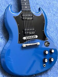 2011 Gibson Limited SG Renault Blue