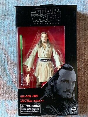 "Star Wars Black Series - Qui-Gon Jinn 6"" Action Figure"