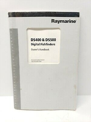 Raymarine DS400 & DS500 Digital Fishfinders Owner's Handbook Manual