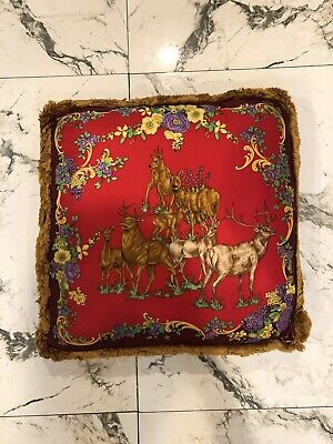 Versace Decorative Pillow Small Size Authentic