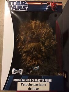 Star Wars Deluxe Talking Chewbacca