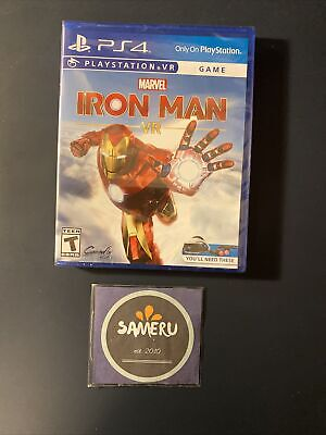 NEW MARVEL IRON MAN VR PLAYSTATION 4 PS4 VR GAME SEALED FREE SHIPPING!!