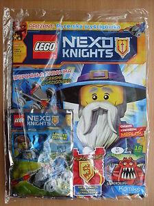 LEGO Nexo Knights Magazine July 2016 Ridder Racer - Limited Edition Minifigure - Czestochowa, Polska - LEGO Nexo Knights Magazine July 2016 Ridder Racer - Limited Edition Minifigure - Czestochowa, Polska