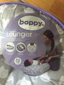 Brand new boppy baby newborn lounger