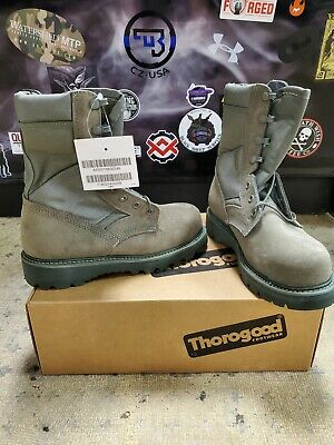 NEW USAF Hot Weather Steel Toed Sage Green Combat Boots size 5 R  Hot Weather Sage Green