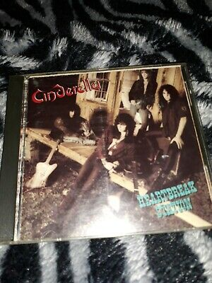 Cinderella Heartbreak Station Cd,used good condition few scratches plays thruout