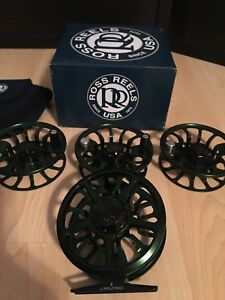 New Ross Reel and 3 spools