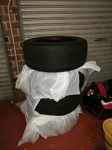 Set of 4 tyres 235/45 17 pirelli/contenental Narellan Vale Camden Area Preview