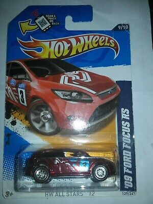 2012 hot wheels super treasure hunt '09 ford focus rs TAMPO ERROR SEE PIC