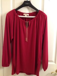 Michael kors top Large
