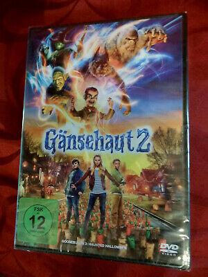 GÄNSEHAUT 2 - DVD NEU in Folie - Grusel Abenetuer Kinder Familie Halloween - OVP