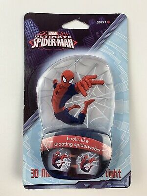 Marvel Spiderman 3D Motion Effect Night Light Spider-Man Wall Plug-In