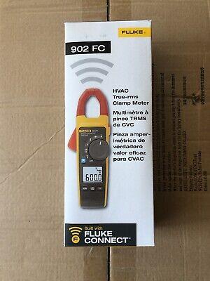 Fluke 902 Fc True-rms Wireless Hvac Clamp Meter New