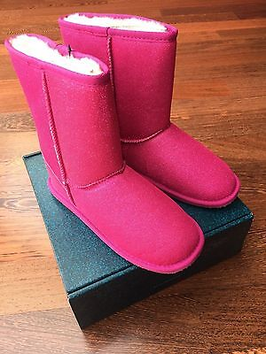 EMU Boots Stiefel Sparkle Lo Hot Pink Gr. 36 *neu*