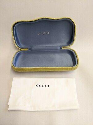 Gucci Green Velvet Glasses (Gucci Glasses Case)