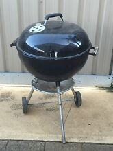 Weber Kettle BBQ Black - 57cm,camping,fishing, good for summer Parafield Gardens Salisbury Area Preview