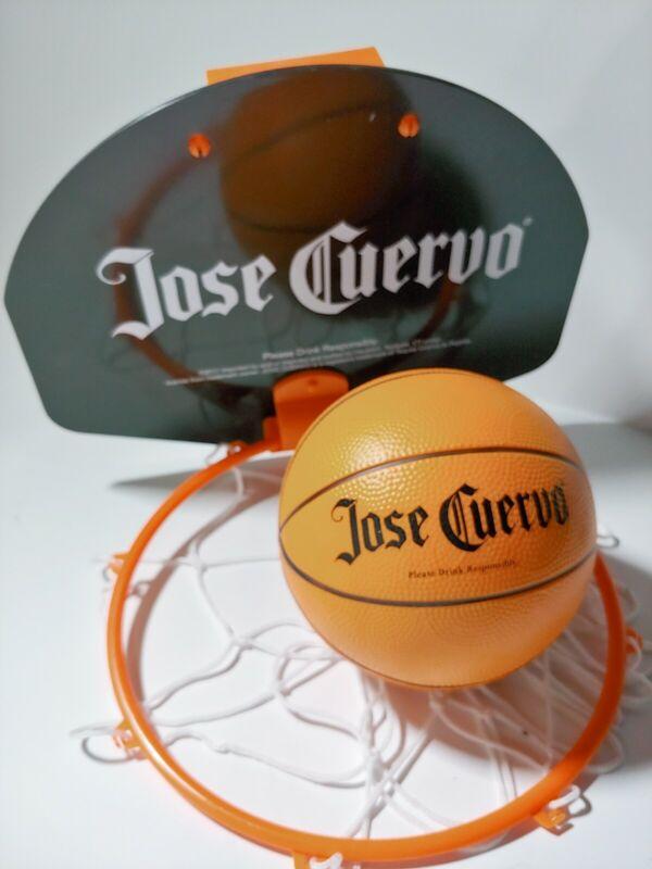 Jose Cuervo Basketball Hoop And Ball