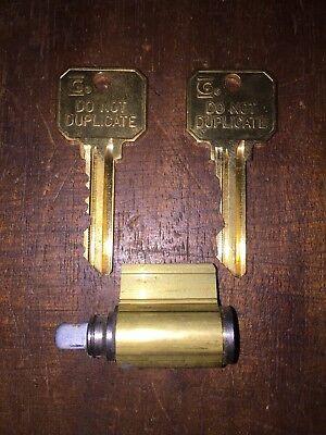 Sargent Key In Lever Knob Cylinder La Keyway 6 Pin 26d W 2 Keys