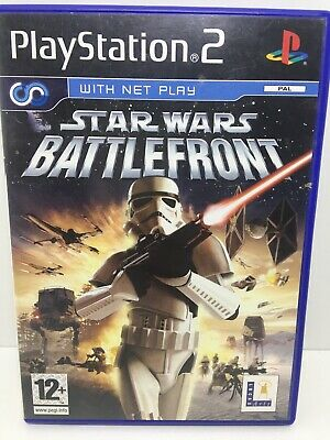 Star Wars Battlefront 1 PS2 game tested and working good condition no manual PAL