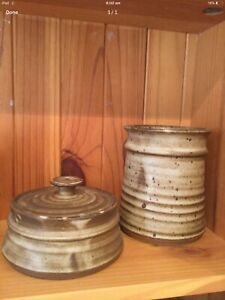 Country Kitchen. 1970's Original Pottery.