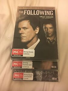 The Following season 1,2 and 3 Adamstown Newcastle Area Preview