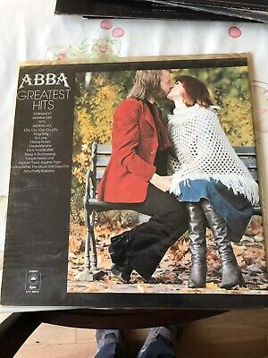 ABBA Greatest Hits EPC 69218 Vinyl LP Record VGC Best of Original RARE 1976