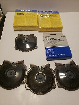 Sears Script 12 10 Print Wheel Electronic Typewriters Assortment