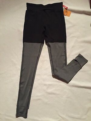 be18ab6f934635 NWT C9 CHAMPION grey black M leggings stirrups FREEDOM ebony ebony heather  tight