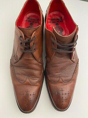 Jeffrey West mens brogue shoes size 9