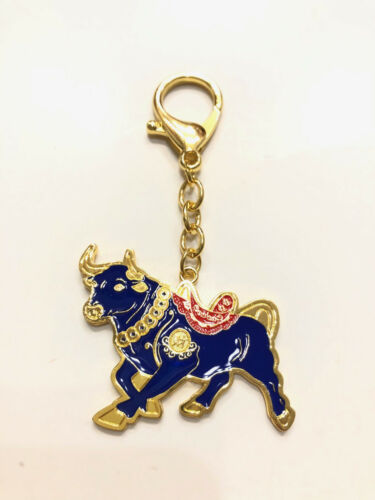 2021 Feng Shui Asset Wealth Bull Talisman Amulet Keychain