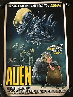 ALIEN Movie PHOTO Print POSTER Film 1979 Ridley Scott Textless Glossy Sci-Fi 003