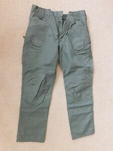 HELIKON-TEX URBAN TACTICAL GREEN PANTS SIZE X LARGE NEW W/ DEFECTS