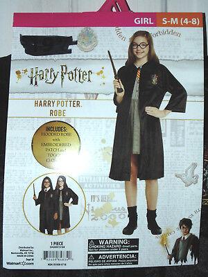 Halloween Harry Potter Robe Costume Girls Size S-M (4-8) Theater Reenactment  ()