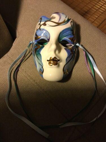 Mardi Gras Mask New Orleans Small Ceramic beautiful Art Mask