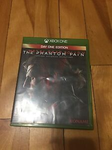 Phantom pain day one edition for Xbox one