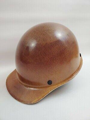 Msa Skullgard Protective Hard Hat Cap 475395 Tan Fast-trac Suspension Ansi