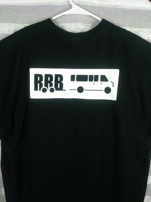 Vintage RRB Band Shirt Size 2XL RRB Black Band Shirt Band Music Shirt RRB Music