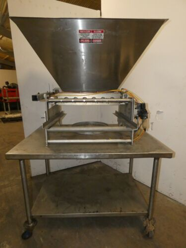 Hinds Bock Muffin Depositor Model # 5P-08WT with Stand