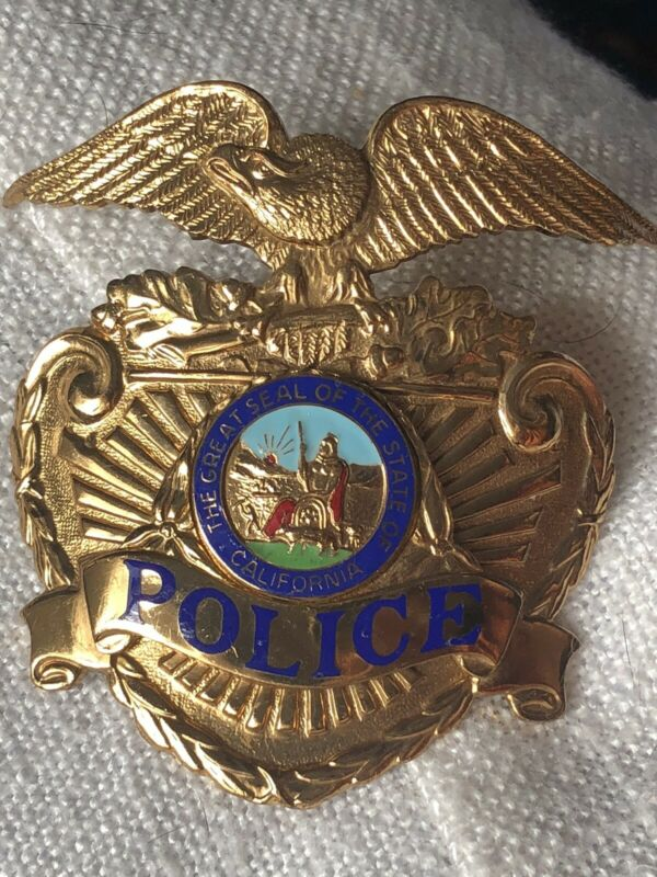 The Great Seal of the State of California Police Officer Badge - Entenmann-Rovin