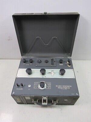 Leeds Northrup Millivolt Potentiometer Vintage Laboratory 8686 Galvanometer