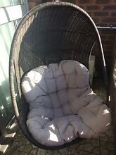 Hanging chair - needs modification Broadbeach Gold Coast City Preview