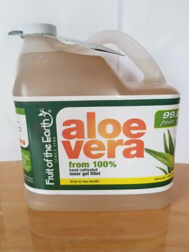 1 gallon 128 oz 99.8% Pure Aloe Vera from 100% hand cultivat