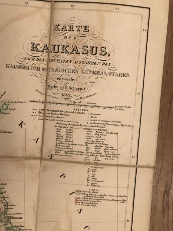 Map - CAUCASUS AND ARMENIA