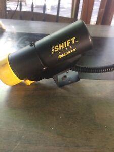 Auto meter shift light